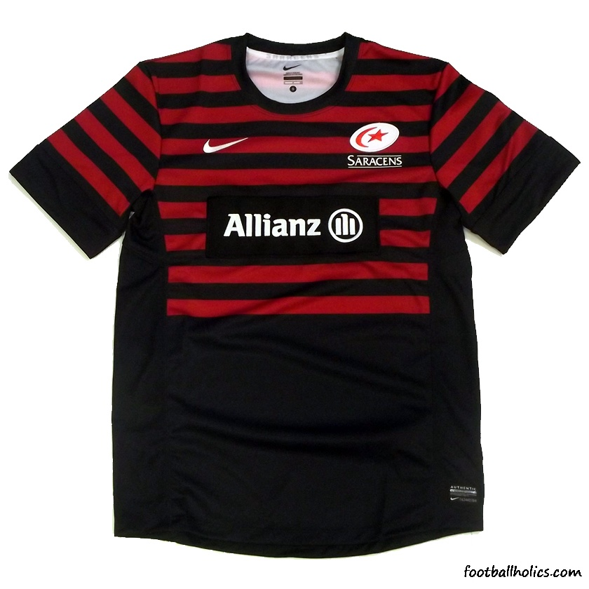 Saracens Rugby Shirt Saracens Rugby Shirt Added on
