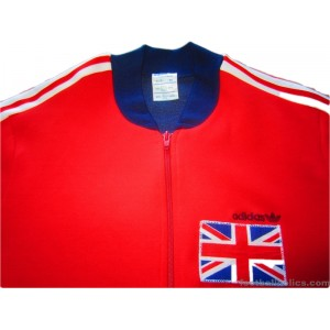 1980s Great Britain Player Issue Anthem Tracksuit Top