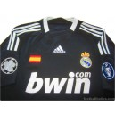 2008/2009 Real Madrid Champions League Third