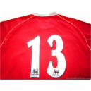 2006/2007 Manchester United (Park) 13 Home