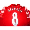2006/2008 Liverpool Gerrard 8 Home
