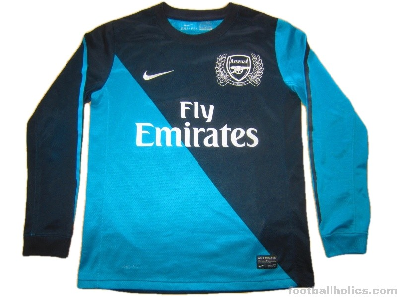 size 40 a3900 878aa 20112012 Arsenal 125 Years Away ...