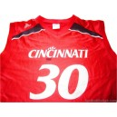 2006/2008 Cincinnati Bearcats No.30 Alternate