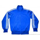 1970s Adidas Vintage Blue Tracksuit Top