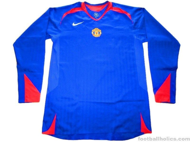 9d35be46e 2005-07 Manchester United Player Issue Away Shirt - Footballholics.com