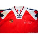 1992/1994 Norway (Sorloth) No.10 'Signed' Home