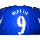 2006/2007 Everton Beattie 9 Home
