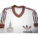 1980 Summer Olympics 'Moscow' Adidas T-Shirt