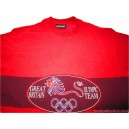 1996 Great Britain Olympic Player Issue Training