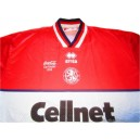 1998 Middlesbrough 'Coca Cola Cup Final' Home
