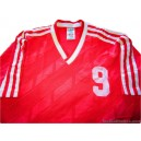 1985/1988 Adidas (Bayern Munich) No.9 Home