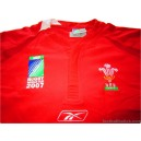2007 Wales 'World Cup' Home