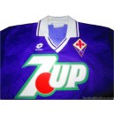 1991/1993 Fiorentina Match Worn No.5 Home