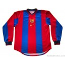 1998/2000 FC Barcelona Player Issue Home