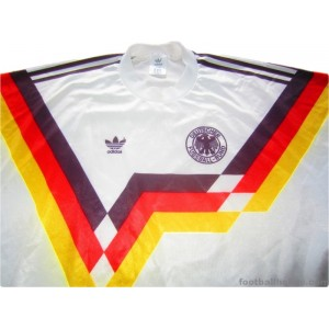 1990-92 West Germany Home Shirt