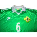 1999/2001 Northern Ireland Player Issue No.6 Home