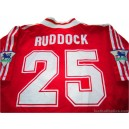 1995/1996 Liverpool Ruddock 25 Home