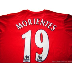 2004/2006 Liverpool Morientes 19 Home
