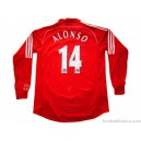 2006/2008 Liverpool Alonso 14 Home