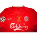 2005 Liverpool 'Champions League Final' Gerrard 8 Home