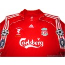 2006/2008 Liverpool 'European Cup Winners' Gerrard 8 Home