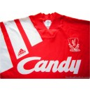 1991/1992 Liverpool Home