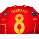 2005/2006 Liverpool Gerrard 8 Champions League Home