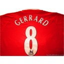 2002/2004 Liverpool Gerrard 8 Home