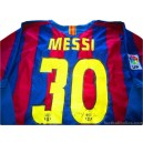 2005/2006 FC Barcelona Messi 30 Home