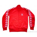2000s Hummel Red Tracksuit Top