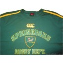 2009/2011 South Africa Springboks No.15 T-Shirt
