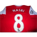 2010/2011 Arsenal Nasri 8 Champions League Home