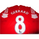 2008/2010 Liverpool Gerrard 8 Home