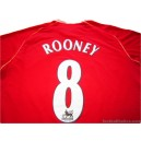 2006/2007 Manchester United Rooney 8 Home
