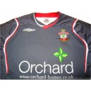 2008/2009 Southampton Match Issue No.17 Away