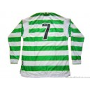 1999/2001 Celtic (Larsson) No.7 Home