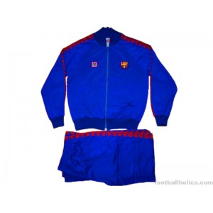 1980/1989 FC Barcelona Player Issue Full Tracksuit