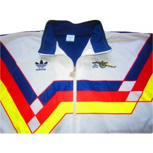 1988/1990 Arsenal 'Germany' Player Issue Tracksuit Top