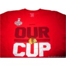 2014/2015 Chicago Blackhawks 'Stanley Cup Champions' T-Shirt