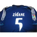 2005/2006 Real Madrid Zidane 5 Away