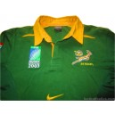 2003 South Africa Springboks 'World Cup' Home