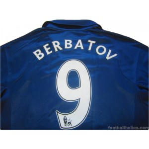 2007/2008 Tottenham Hotspur Berbatov 9 '125 Years' Away