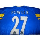 2001/2003 Leeds United Fowler 27 Away