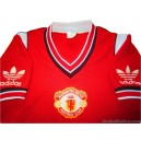 1984/1986 Manchester United Home