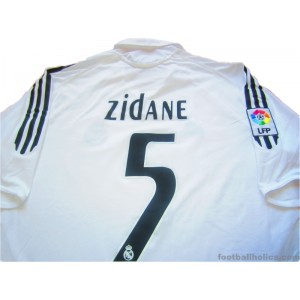 2005/2006 Real Madrid Zidane 5 Home