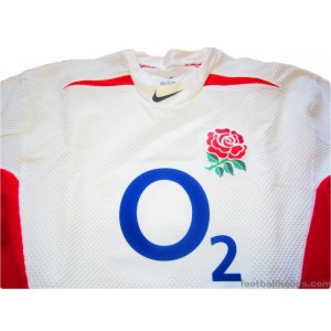 2003/2005 England Player Issue Home