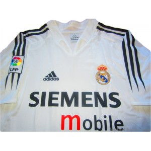 2004/2005 Real Madrid Home