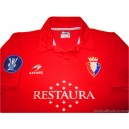 2006/2007 Osasuna Player Issue UEFA Cup Home