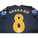 2009/2010 Liverpool Gerrard 8 Away