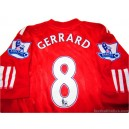 2010/2012 Liverpool Gerrard 8 Home